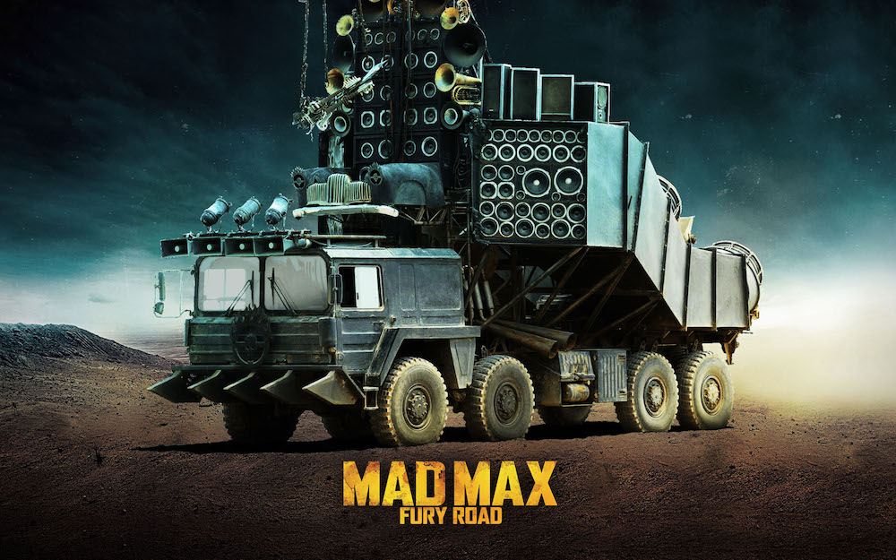 3 Mad Max Doof Wagon