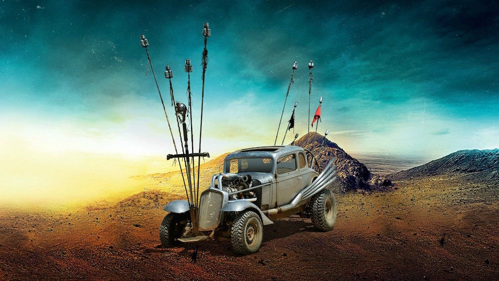 5 MAd Max The Nux CAr