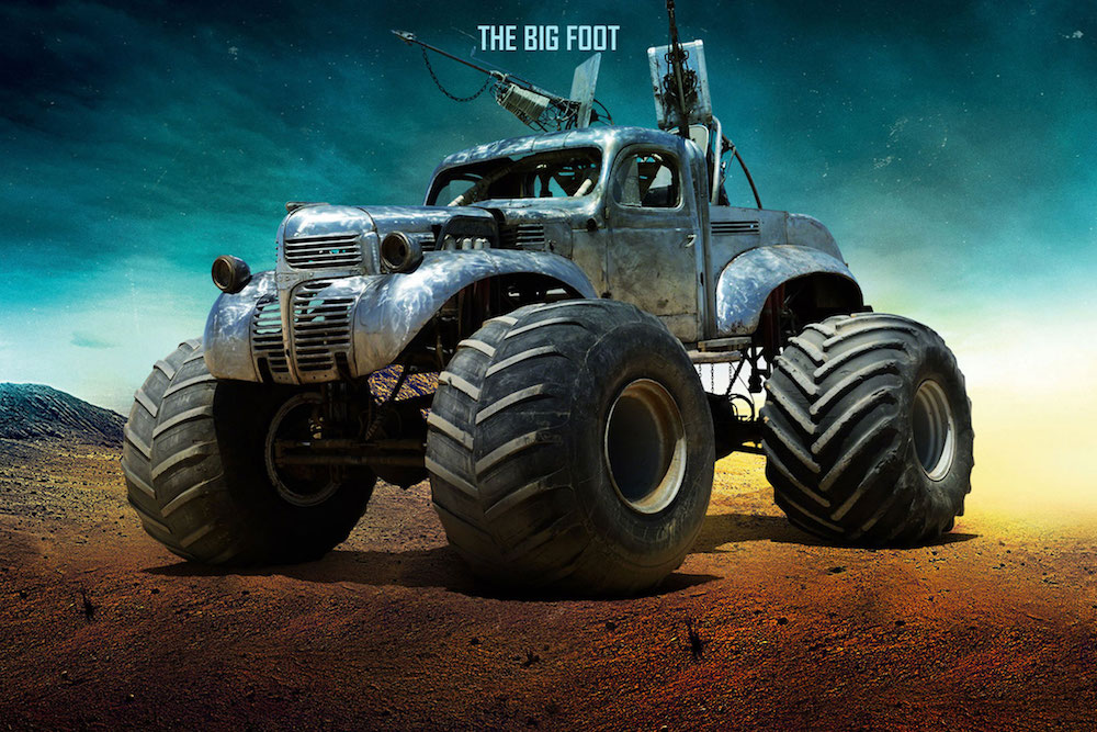 7 Mad Max The Big Foot